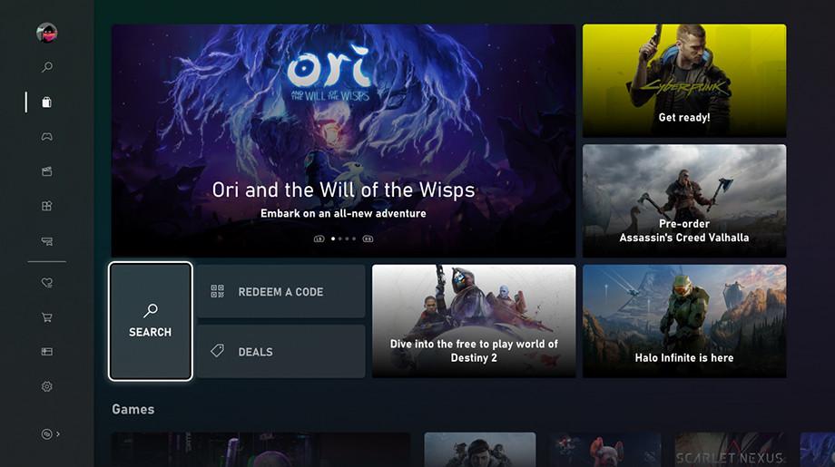 Новый Xbox Store