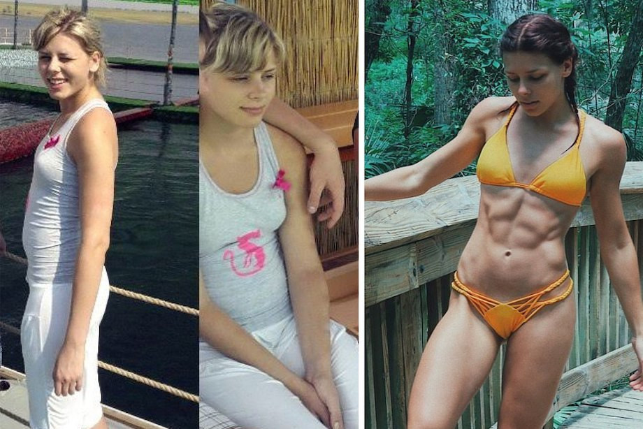 Как похудела и накачалась фитнес-блогер Таня TGYM? Личный опыт, фото до и после