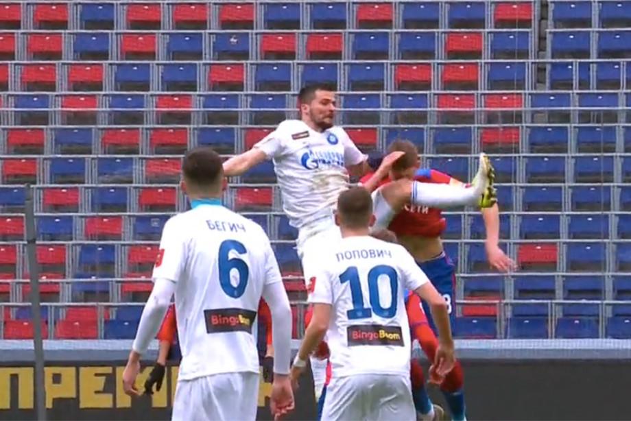 Где на самом деле ошибся Лапочкин? Разбор судейства в матче ЦСКА — «Оренбург»