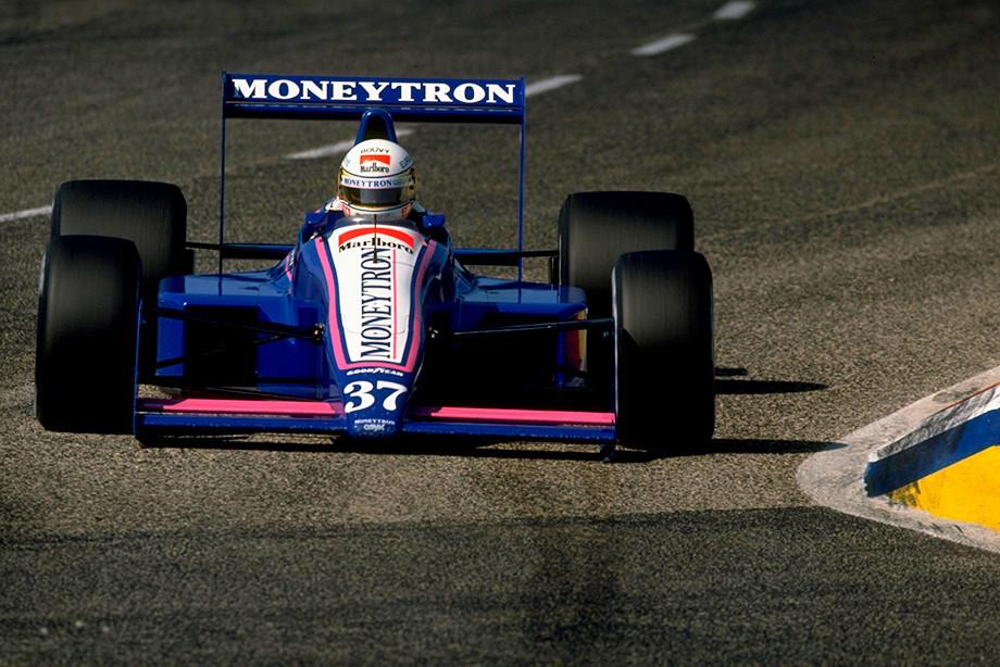 Бертран Гашо на Гран-при Франции1989