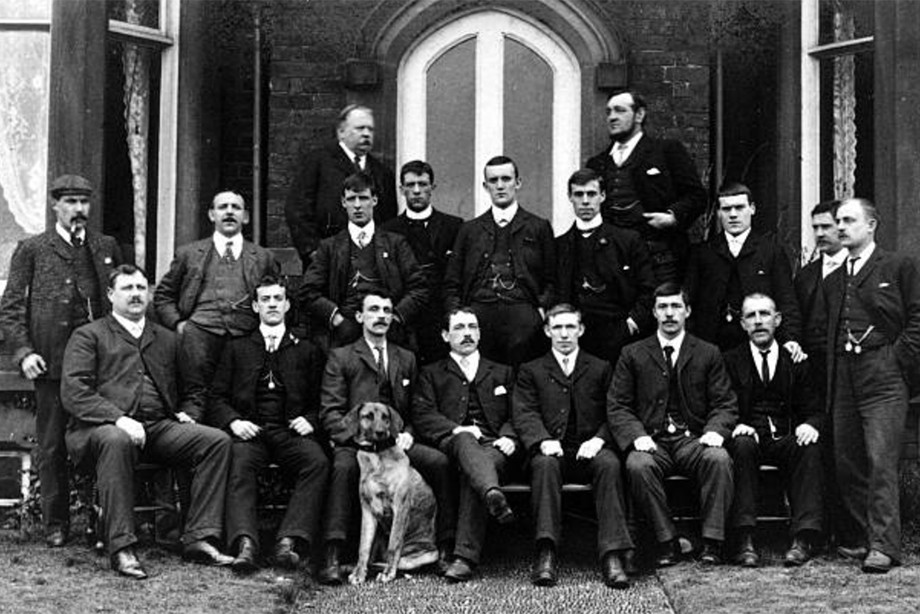 Состав «Бери» в 1903 году