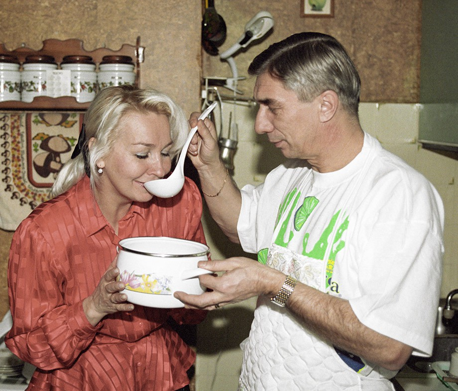 Георгий Ярцев с женой Любовью