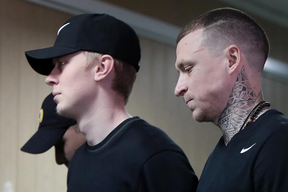 Кокорин-младший и Павел Мамаев