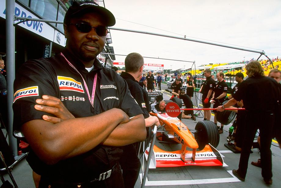 Принц Малик Адо Ибрахим на Гран-при Австралии-1999