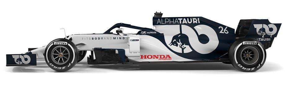 Команда Квята показала первую машину после переименования — в неожиданной бело-синей гамме