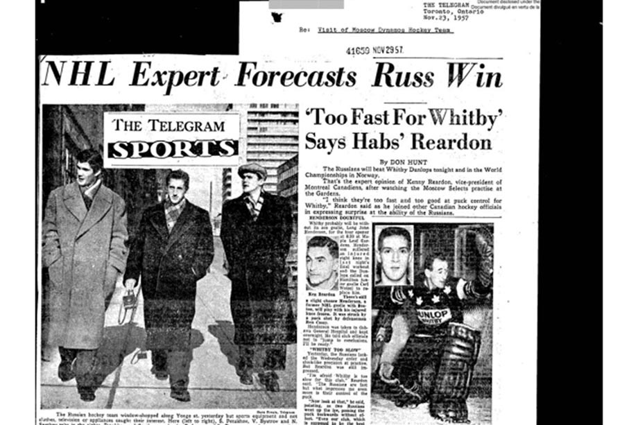 «50 грамм? Скажи, чтобы фужерчик принесла». Как начиналось первое турне СССР по Канаде
