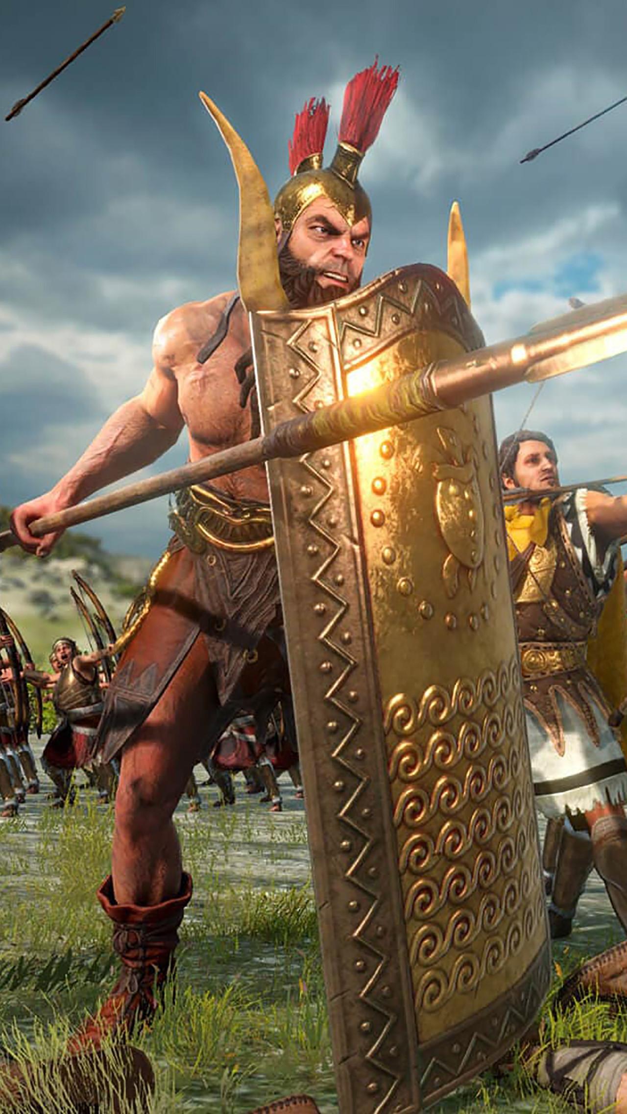 3. A Total War Saga: Troy — Ajax & Diomedes – 28 января