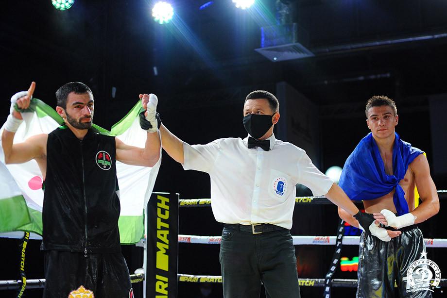 Россияне Сергей Горохов и Иса Чаниев одержали победы на турнире KOld Wars