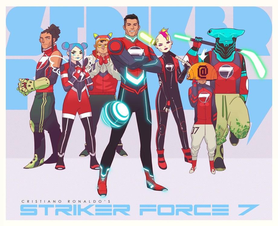 Роналду объявил о запуске мультсериала про супергероев со своим участием