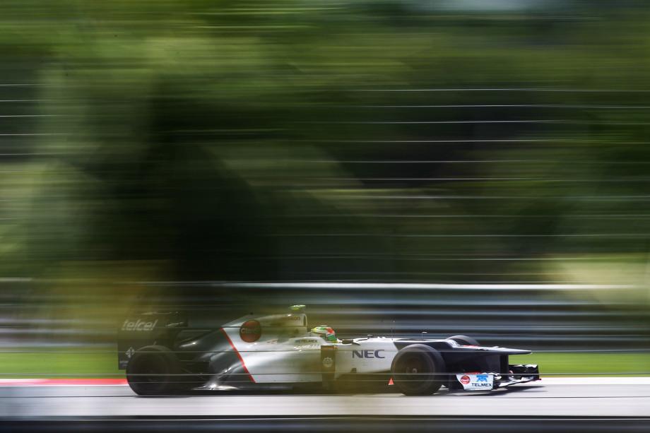Серхио Перес на Гран-при Малайзии-2012
