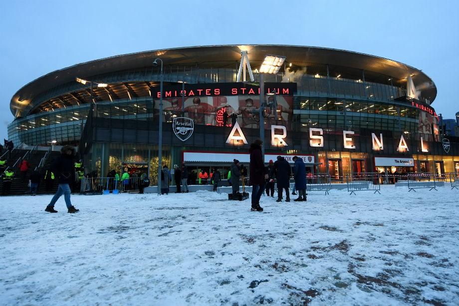 Футболисты «Манчестер Сити» разгромили «Арсенал» вматче чемпионата Англии