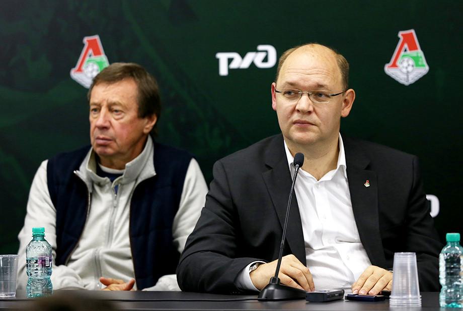 Юрий Сёмин и Илья Геркус