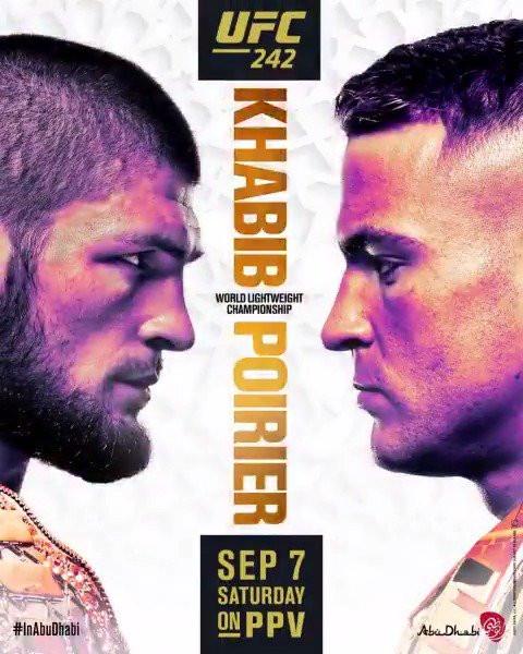 UFC опубликовал постер UFC 249 c Хабибом Нурмагомедовым и Тони Фергюсоном 19 апреля