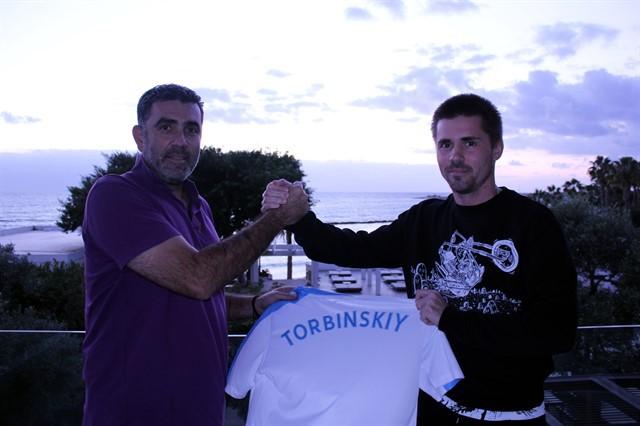 Торбинский подписал контракт с кипрским клубом «Пафос»