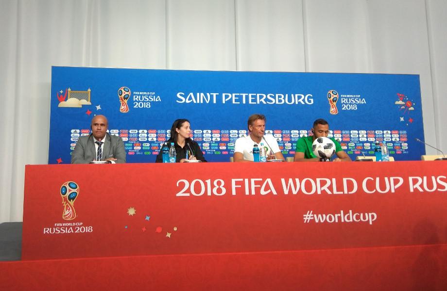 Пресс-конференция сборной Марокко