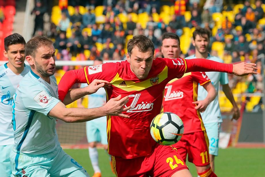Артём Дзюба в матче «Арсенал» — «Зенит»