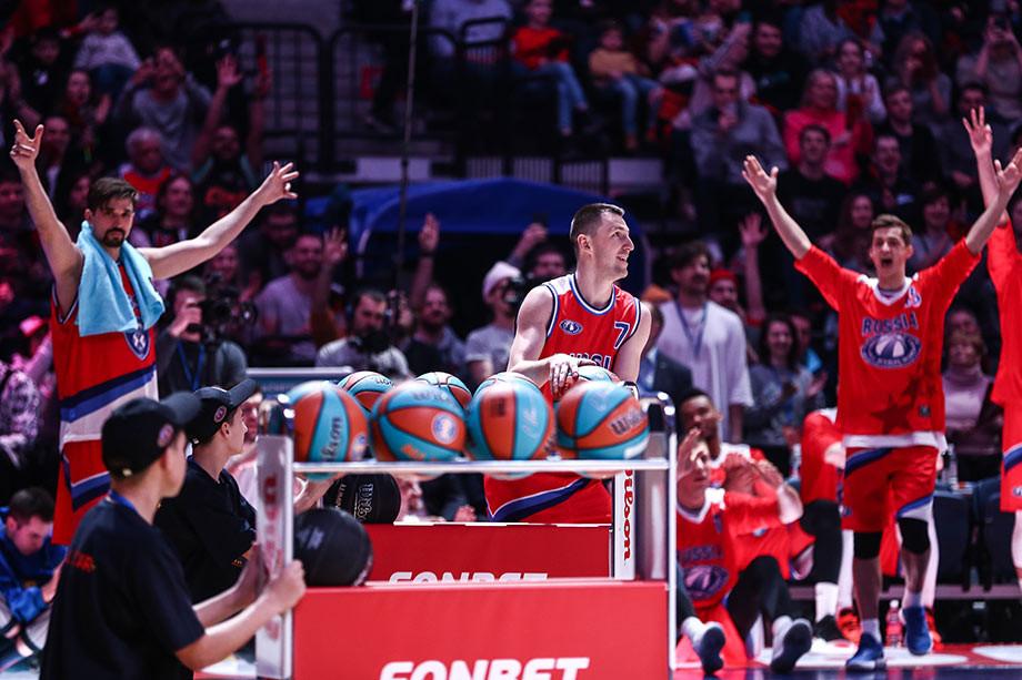 Матч звёзд Единой лига ВТБ 2020, обзор, результаты, фото