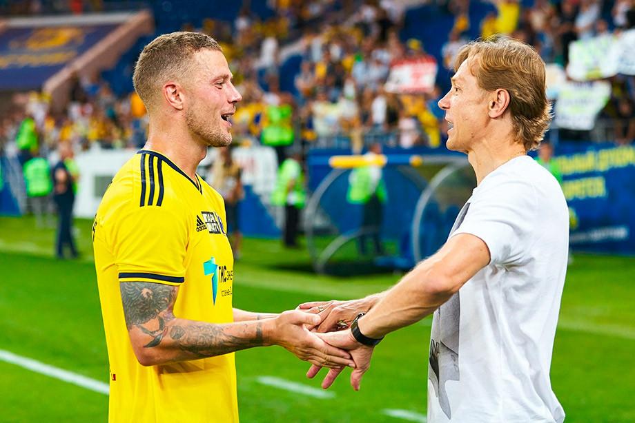 Рагнар Сигурдссон и Валерий Карпин
