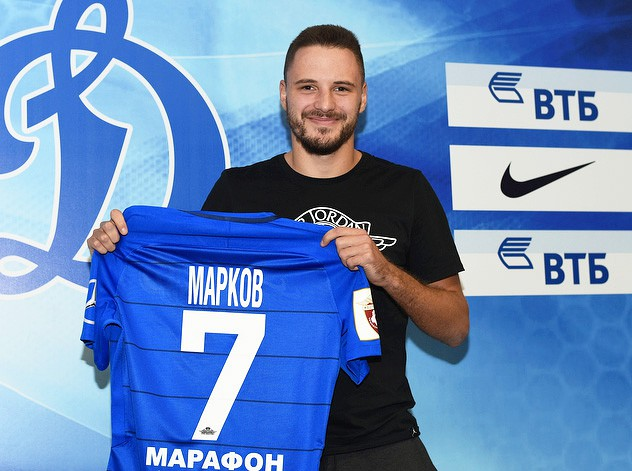 «Динамо» объявило о переходе Маркова из «Тосно»
