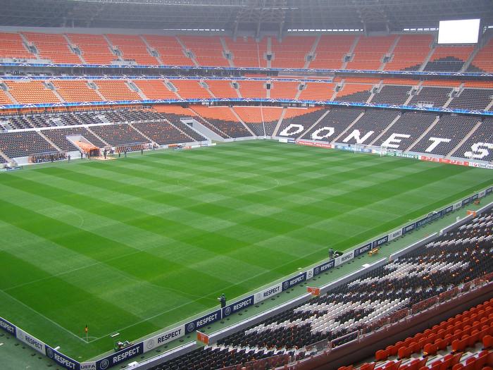 «Донбасс Арена» в 2011 году перед матчем «Шахтёр» — «Зенит»