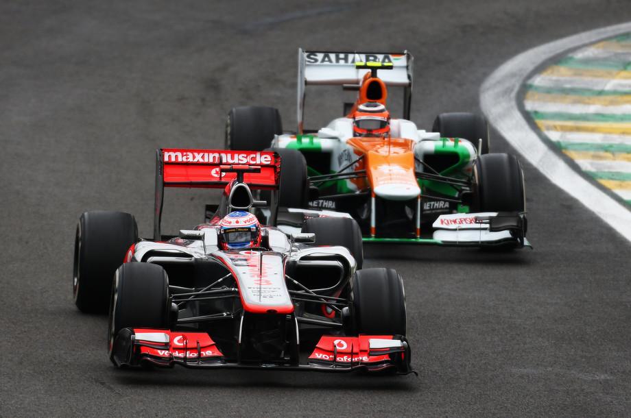 Дженсон Баттон на Гран-при Бразилии-2012