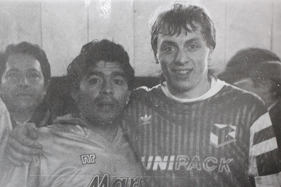 Александр Хаджи, Диего Марадона и Валерий Шмаров