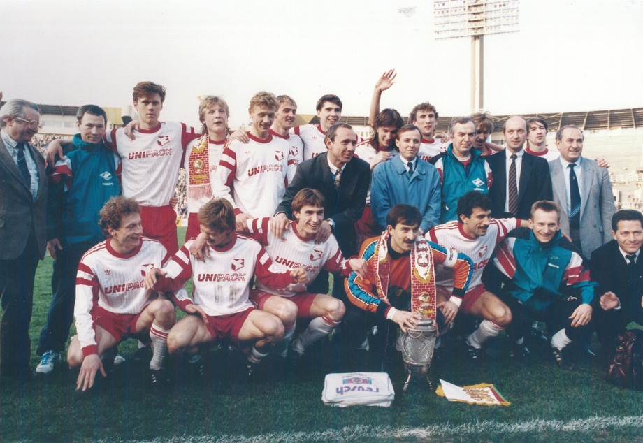 Бесчастных, Карпин, Онопко, Чернышов, Хлестов, Черчесов. 1992 год