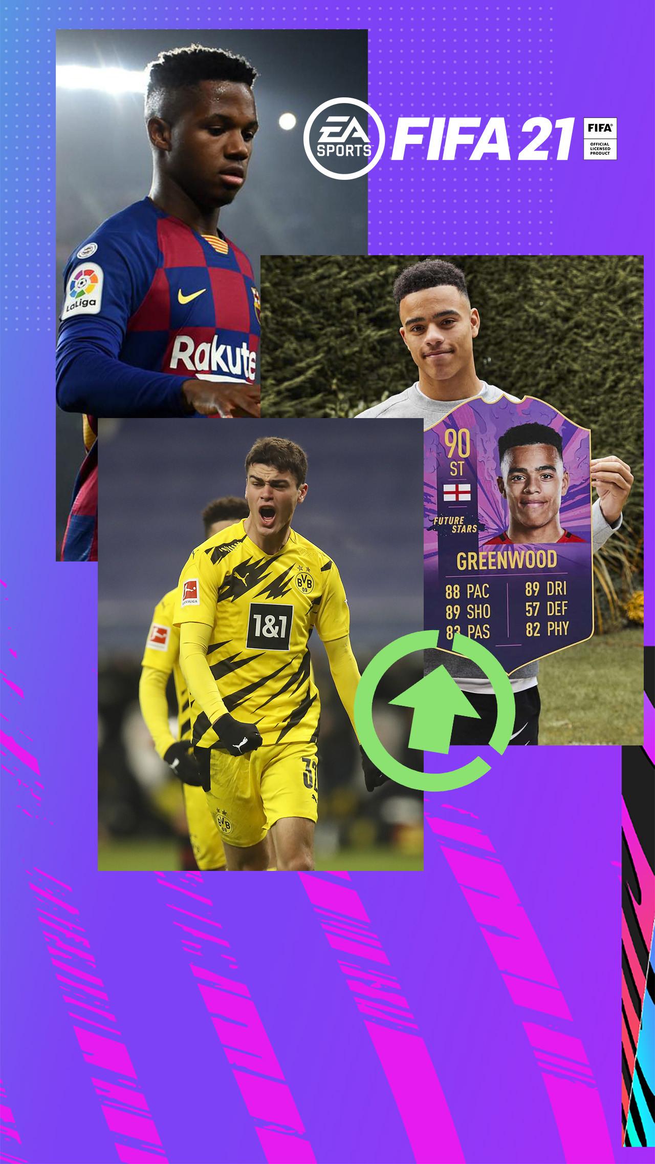 Самые перспективные футболисты FIFA 21 до 18 лет