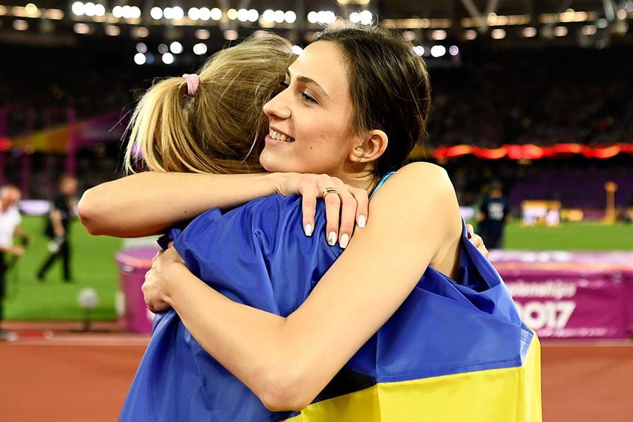 Юлия Левченко и Мария Ласицкене, ЧМ по лёгкой атлетике