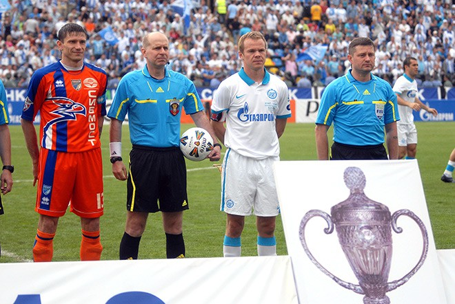 Алексей Медведев, Александр Колобаев и Александр Анюков