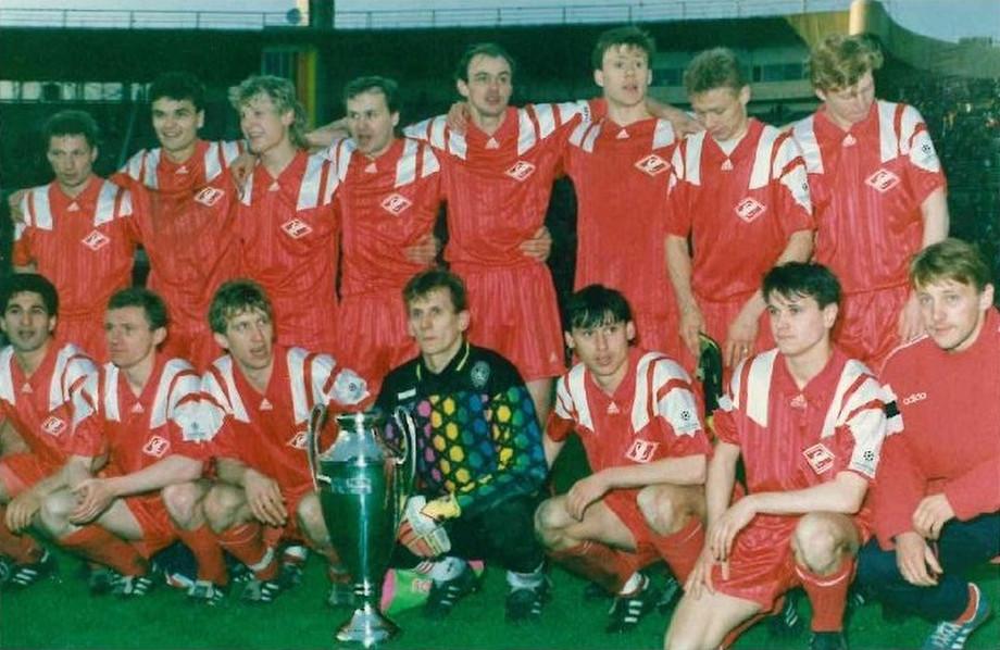 «Спартак» с Кубком России 1994 года