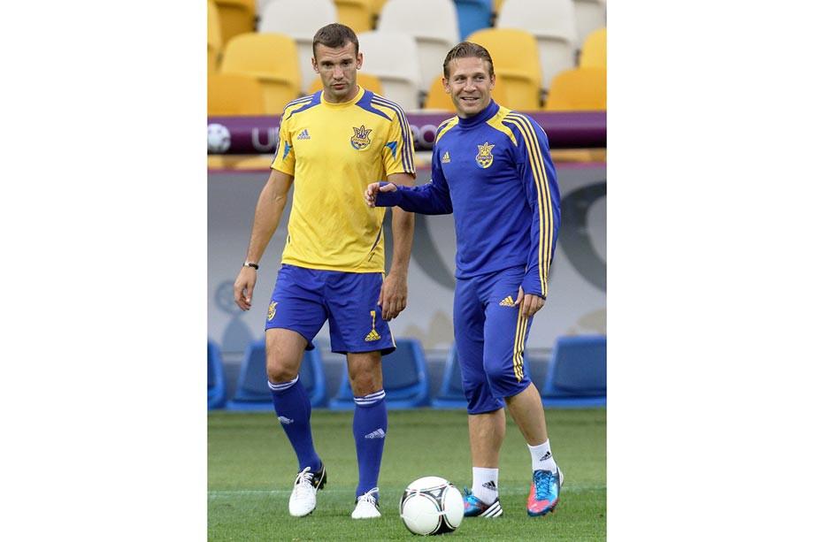 Андрей Шевченко и Андрей Воронин
