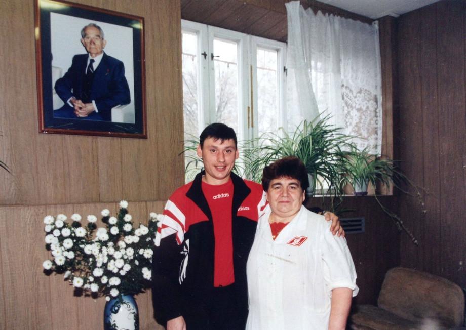 Спартаковцы обожали борщи Анны Павловны Чуркиной