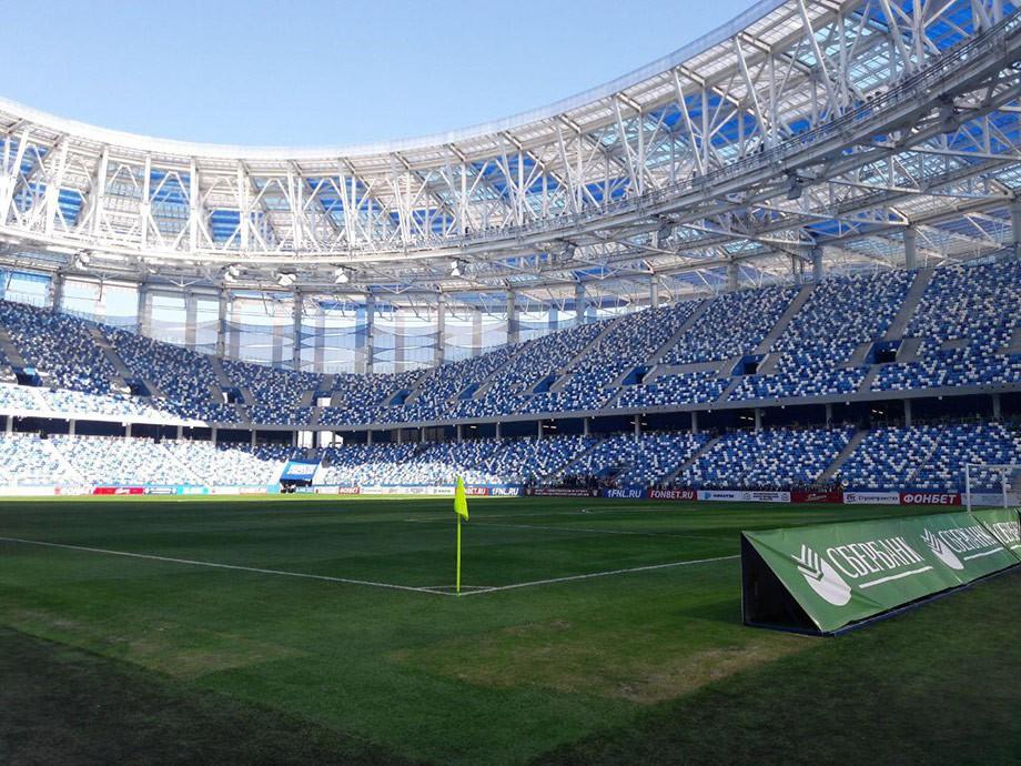 Арена «Нижний Новгород». Вид изнутри. Ну не красавица?!
