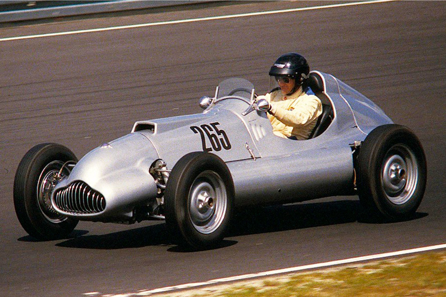 """""""Веритас Метеор"""", на котором Лооф выступал на Гран-при Германии-1953"""