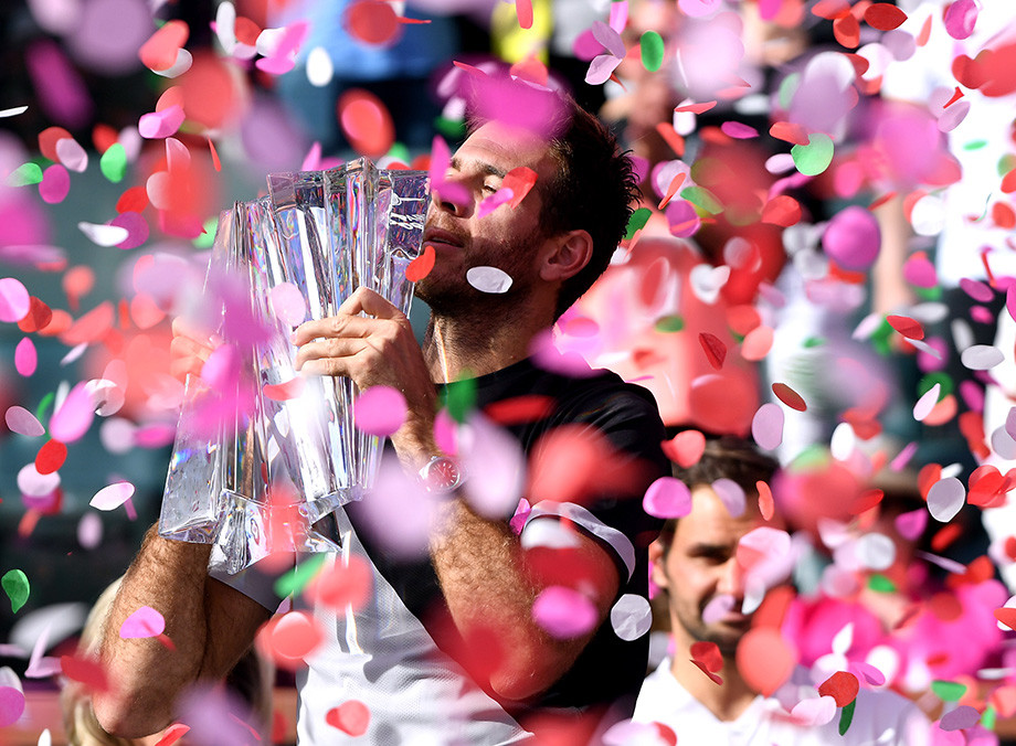 Выбираем лучшие матчи Индиан-Уэллса. Триумфы Федерера, Джоковича, Шараповой, Весниной
