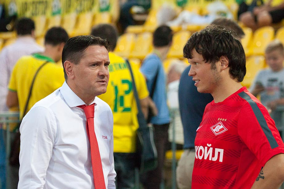 Дмитрий Аленичев и Александр Козлов