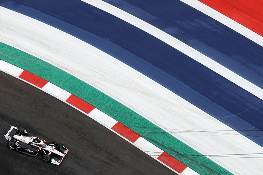 Тесты IndyCar в Остине