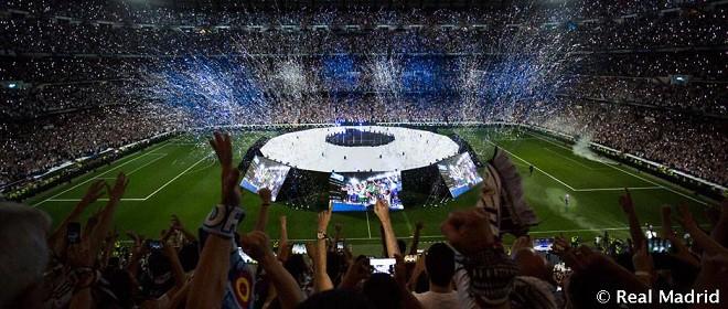 """""""სანტიაგო ბერნაბეუზე"""" ჩემპიონთა ლიგის ფინალს 80 000 მაყურებელმა მიადევნა თვალი"""