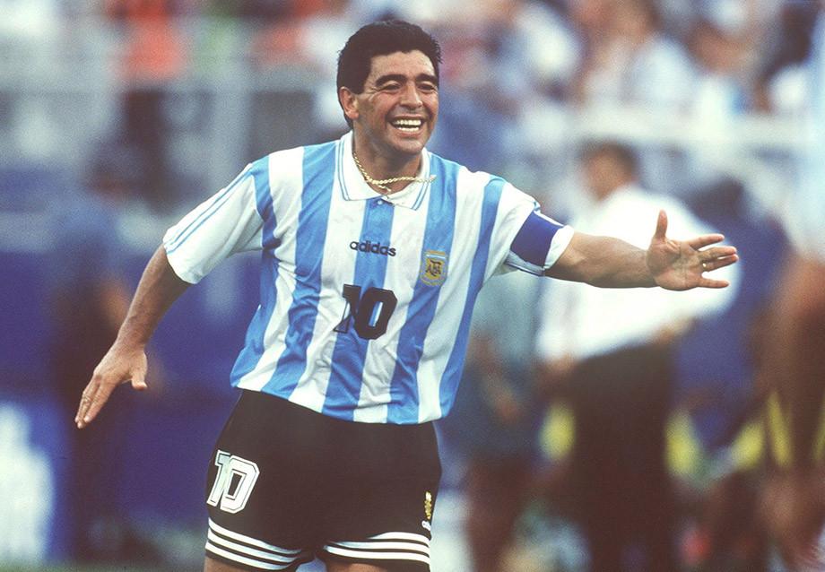 Возвращение Диего Марадоны на родину: контракт с «Ньюэллс Олд Бойс», поездка на ЧМ-1994