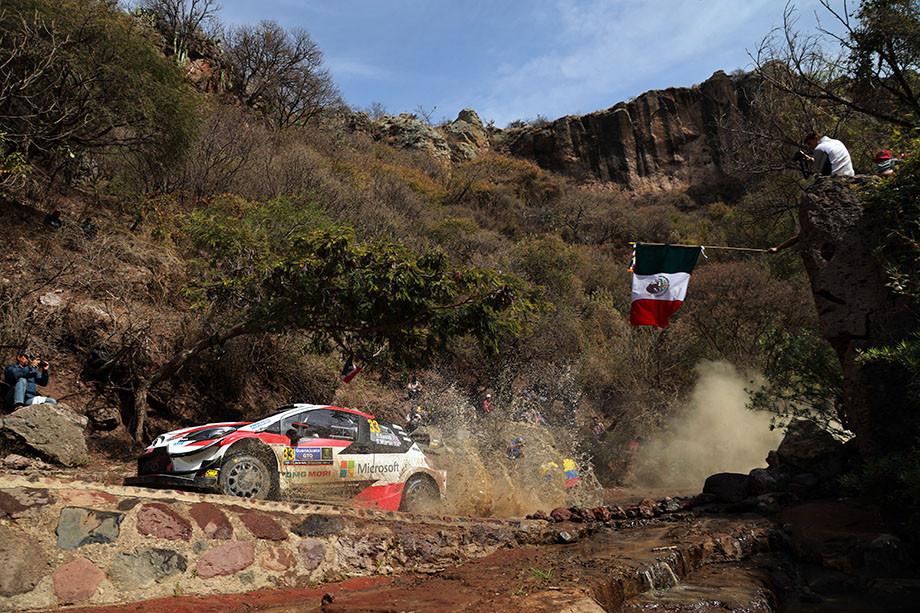 Ралли Мексики — единственная гонка уик-энда