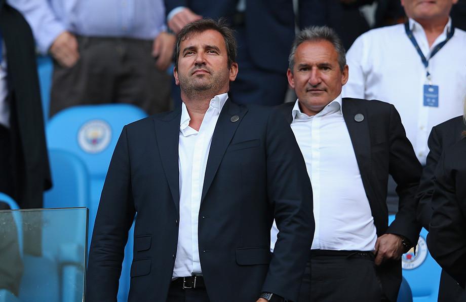 Ферран Сориано (слева) и Чики Бегиристайн: исполнительный директор испортивный директор «Сити», в прошлом – в «Барселоне»
