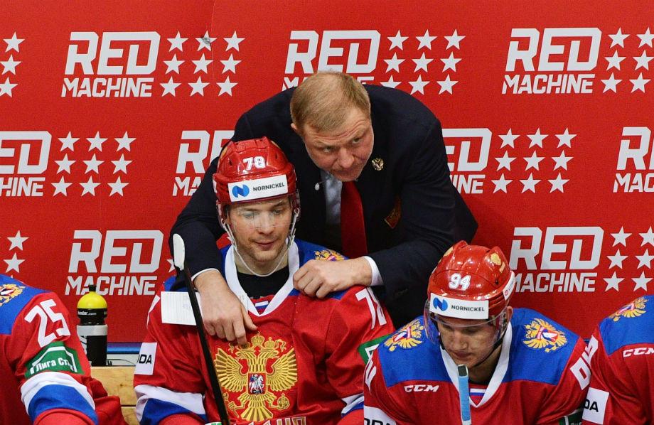 Александр Кадейкин и Алексей Жамнов в сборной России