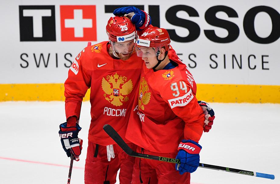 Михаил Григоренко и Александр Барабанов