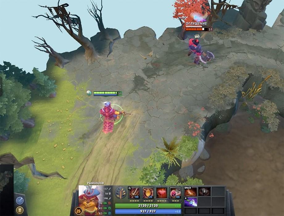 Swashbuckle позволяет оглушить героя с помощью Skull Basher с очень большого расстояния