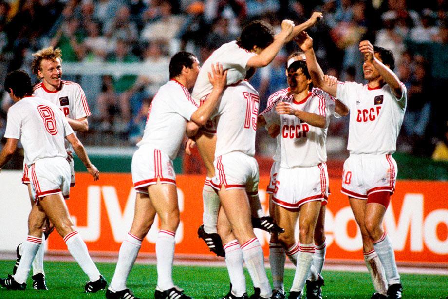 Разделались с Италией за 3 минуты. Последняя великая победа главной сборной СССР