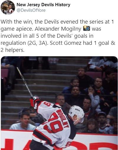 Русский рекорд в плей-офф НХЛ. Могильный набрал 5 очков и сравнялся с Гретцки и Лемье