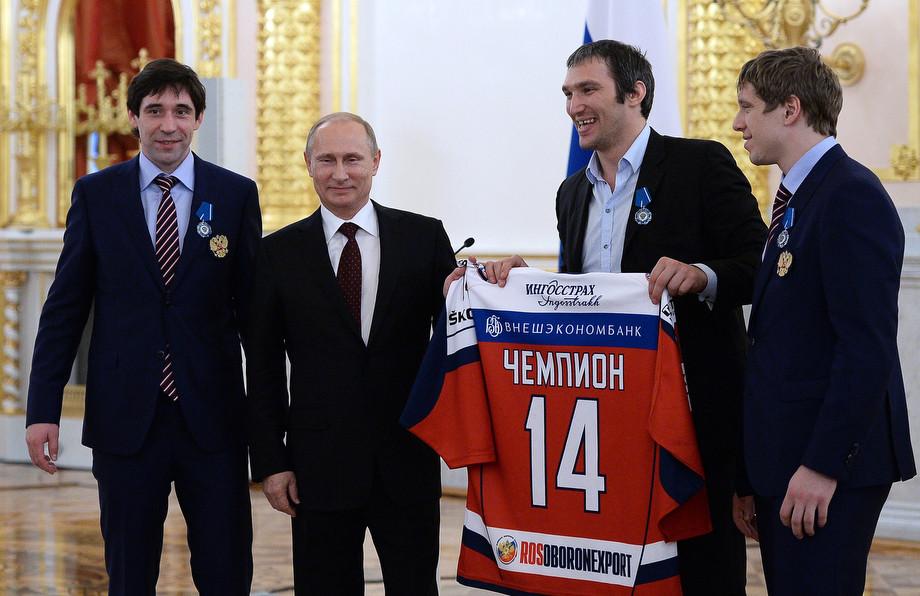 От Кремля до Белого дома. Как Овечкин объединяет Россию с Америкой