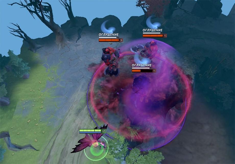 Если на вас висит проклятье Cursed Crown, не стоит приближаться к союзникам, так как можно подставить их под удар.