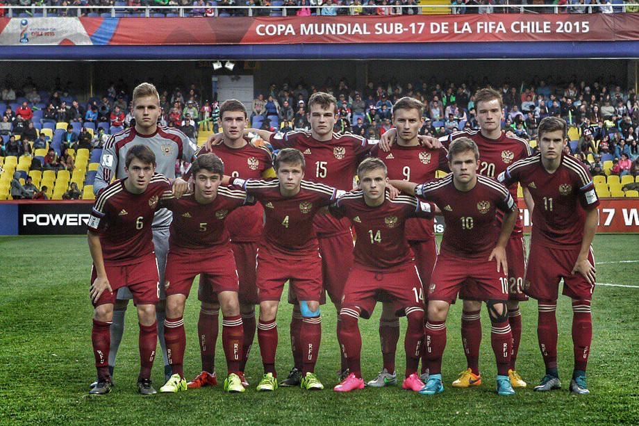 Юношеская сборная России на ЧМ-2015 в Чили